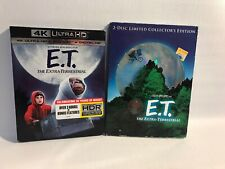 E.T. THE EXTRA TERRESTRIAL 4K ULTRA HD BLU RAY SLIPCOVER With Bounos