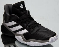 adidas Harden Stepback Men's James Black Grey White Basketball Sneakers Shoes