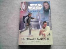 livre star wars la menace fantome épisode 1  pocket jeunesse