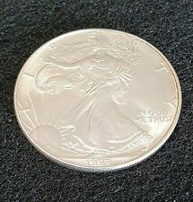 USA ONE DOLLAR 1993 1 oz.FINE SILVER SILBERMÜNZE UNC