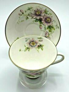 1944 P. Curnock Signed - Royal Doulton Passion Flower M4833 Teacup & Saucer