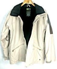 Burton Ski Snowboard Vented Jacket Sz Men's Small Fuzzy Fleece Lined Winter Coat