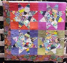 Star Gazing  - scrappy pieced quilt PATTERN & Template  - Lynne Wilson