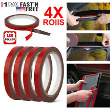 4 Rolls Automotive Acrylic Plus Double Sided Attachment Tape Car Auto Truck