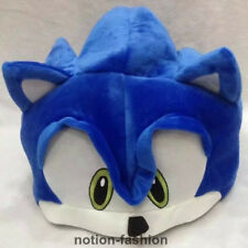 New Adult Sonic the Hedgehog plush Plush Cosplay Costume Beanie Hat Cap Cosplay