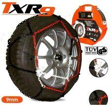 Snow Chains TXR 9mm Tuv O-Norm 225/60-17 245/50-17 245/45-18 255/50-18
