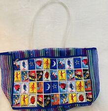 Loteria Shopping Market Mexican Bag. Mesh Large Reusable Tote. Bolsa de Mercado.