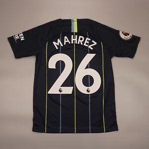 Mahrez #26 Manchester City 2018 2019 Away Football Shirt Jersey Nike 919246-476