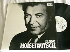 BENNO MOISEIWITSCH Plays Chopin Schumann Brahms Henselt 1916-1928 Pearl UK LP