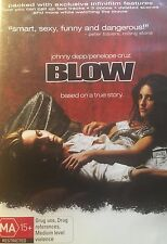 Blow Johnny Depp Penelope Cruz Rachel Griffiths Ray Liotta Region 4 DVD VGC
