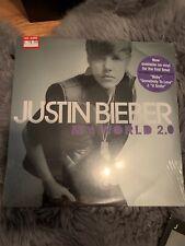 Justin Bieber My World 2.0 vinyl