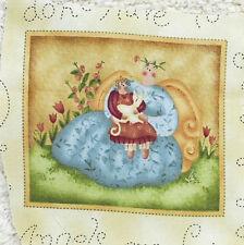Fabric Sample---11 cm  Wide x 9 cm High--Plus Selvedge--Cotton --Shabby Chic