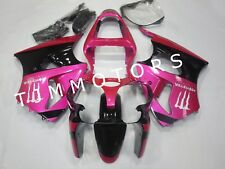 For ZX6R 00-02/ZZR600 05-08 Pink Black ABS Injection Mold Bodywork Fairing Kit