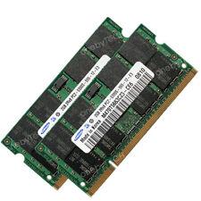 4GB 2x2GB PC2-5300S DDR2-667 MHz 200-pin SODIMM 1.8v Memory For Mac MacBook iMac