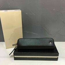 Montblanc soft leather grain series 1 pencil case