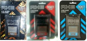 AXE Signature Ticket Body Perfume Collection Easy to Carry 250 Sprays -17 ML