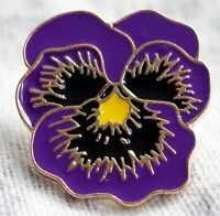 REMEMBERING THE ANIMALS OF WAR New Purple Poppy Enamel Lapel Pin Badge DOG TRUST