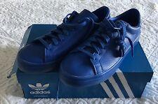 Men's 8 ADIDAS Court Vantage Adicolor Royal Blue Sneakers Shoes S80252 New w Box