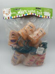 Oriental Trading Package Tiki String Light 7.5' Long Hawaiian Luau Party Kitsch