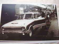 1962 FORD FALCON WAGON ON ASSEMBLY LINE 11 X 17  PHOTO   PICTURE