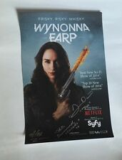 WonderCon 2017 EXCLUSIVE SIGNING WYNONNA EARP SYFY 11 X 17 INCHES VERY LIMITED