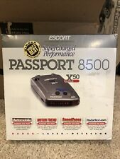 New listing Escort Passport 8500 X50 Radar Detector - Used But Works Fine! No Issues