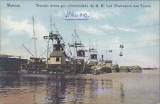 BRAZIL MANAOS TRACCAO AEREA POR ELECTRICIDADE DA M.H. LTD FLUCTUANTE DAS TORRES