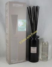 ESTEBAN Vaso diffusore profumo casa Orchidee blanche 75ml bacchette  vaso vetro