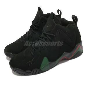 Reebok Kamikaze II DTLR Glory Years Black Green Men Basketball Shoes FZ3868