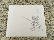 WOODY WOODPECKER, 1940'S    PRODUCTION CEL  PENCIL DRAWING