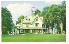 LENOX MA Berkshire Music Festival Main House Postcard