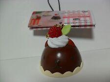 Kapibarasan Capybara Chocolate Mousse Cake 6cm Phone Strap Kawaii San-X Sanrio