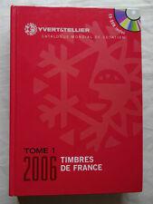 Yvert & Tellier Stamp Catalogue Timbres de France vol 1 2006, comprenant un cd rom, très bon état