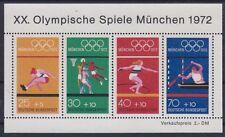 Bund Block 8 **, Olympiade München 1972, postfrisch, MNH