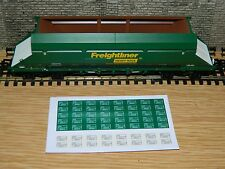 Alternative numbers Decals for Dapol HIA Freightliner Hopper Wagon OO Gauge