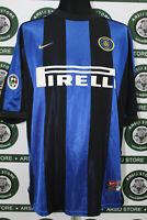 Maglia calcio INTER RONALDO TG L 1999/00 shirt trikot maillot jersey camiseta