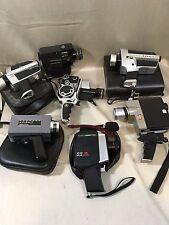 lot de 7 caméras super 8  Fugica  Bolex  Paillard