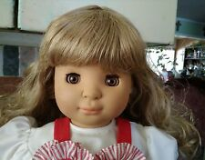 "Vintage GOTZ Puppe Vinyl Doll  18""  1990 Made in Germany 728/76"