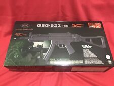 New listing New Sealed Blowback Airsoft GSG- 522 RIS 480 FPS German Sport Guns
