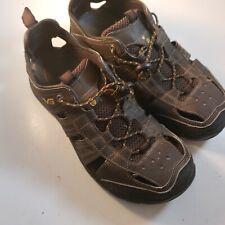 Teva Kitling Turkish Coffee Men's Size 8 Sandals Slip On 1006906 Great Shape!