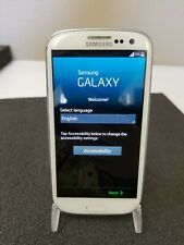 Samsung Galaxy S3 SPH-L710T Boost Mobile Smartphone White 8GB Factory Reset