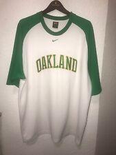 Nike Team MLB Oakland Athletics A's Baseball Jersey Shirt XXL
