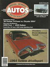 SPECIAL-INTEREST AUTOS 1992 FEB #127 - TURBINE CAR, 389 TRI-POWER vs. 300F