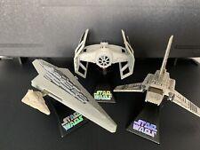 Star Wars Titanium Imperial Shuttle Emperors Hand, Executor, White Tie diecast