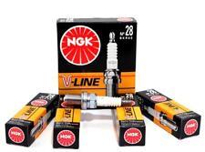 4x Original V-Line NEU NGK Zündkerzen BKR6E 4856 Nickel-Mittelelektrode