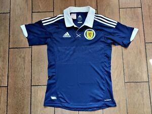 Football shirt soccer FC Scotland Home 2011/2012/2013 Adidas Jersey Kids Boys L