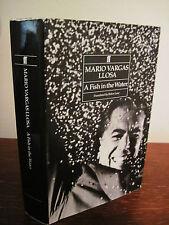 1st/1st Printing A FISH IN THE WATER Mario Vargas Llosa NOBEL PRIZE Memoir RARE