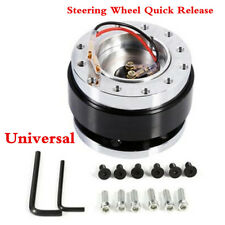Quick Release Snap Off Hub Adapter for Sports Steering Wheel Standard Boss Kit