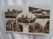 Belfast, Northern Ireland - Local multiview real photo postcard
