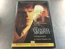 The Talented Mr. Ripley (Dvd) Brand New Factory Sealed. Free Fast Shipping!